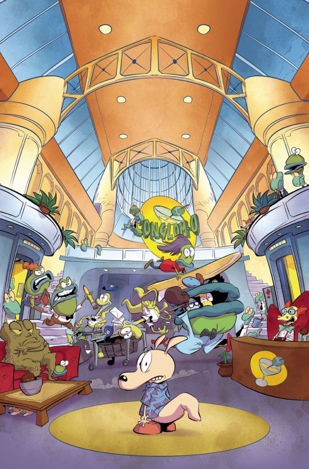 Rocko's Modern Life #2 (Look and Find Bachan Cover)