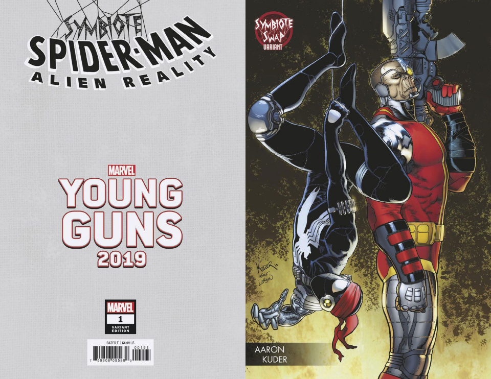 Symbiote Spider-Man: Alien Reality #1 (Kuder Young Guns Cover)