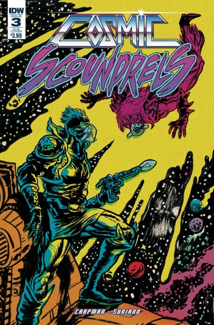 Cosmic Scoundrels #3 (Subscription Cover)