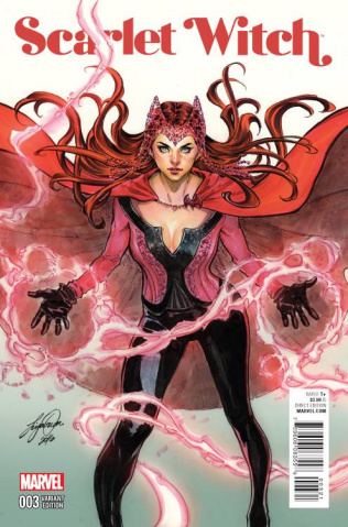 Scarlet Witch #3 (Oum Cover)