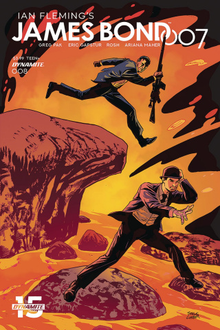 James Bond: 007 #8 (Lieber Cover)
