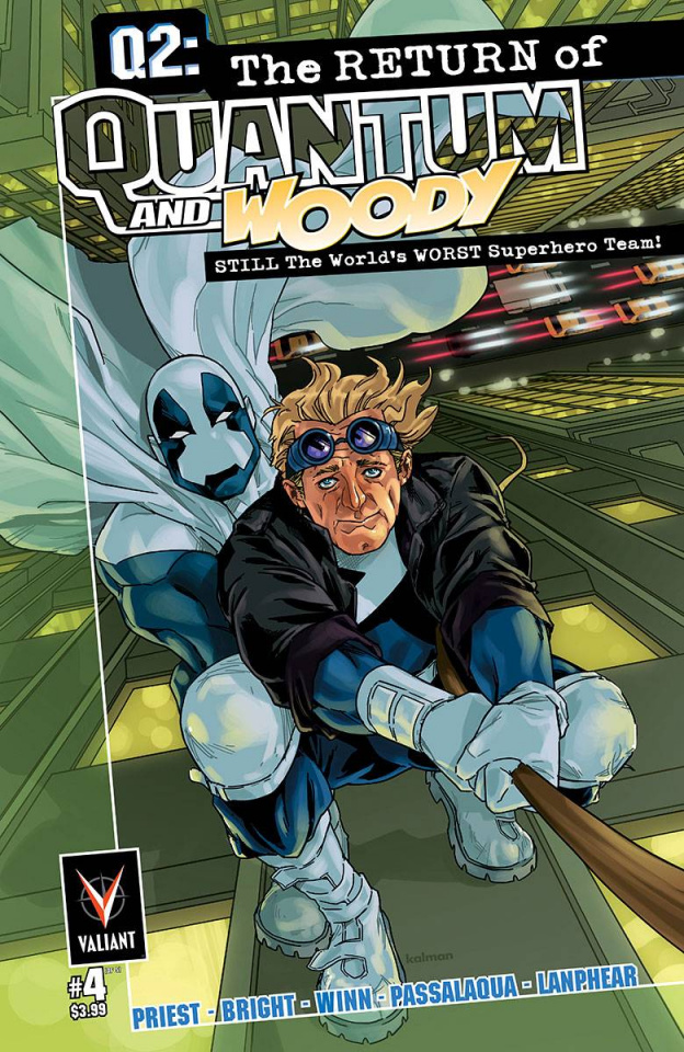 Q2: The Return of Quantum & Woody #4 (10 Copy Andrasofszky Cover)