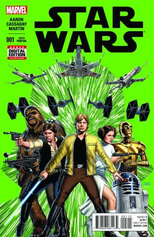 Star Wars #1 (6th Printing)