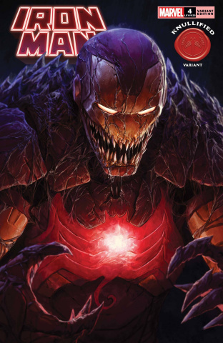 Iron Man #4 (Rapoza Knullified Cover)