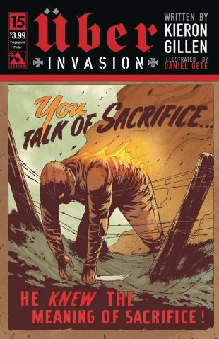 Über: Invasion #15 (Propaganda Poster Cover)