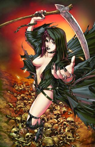 Grimm Fairy Tales: No Tomorrow #1 (Tolibao Cover)