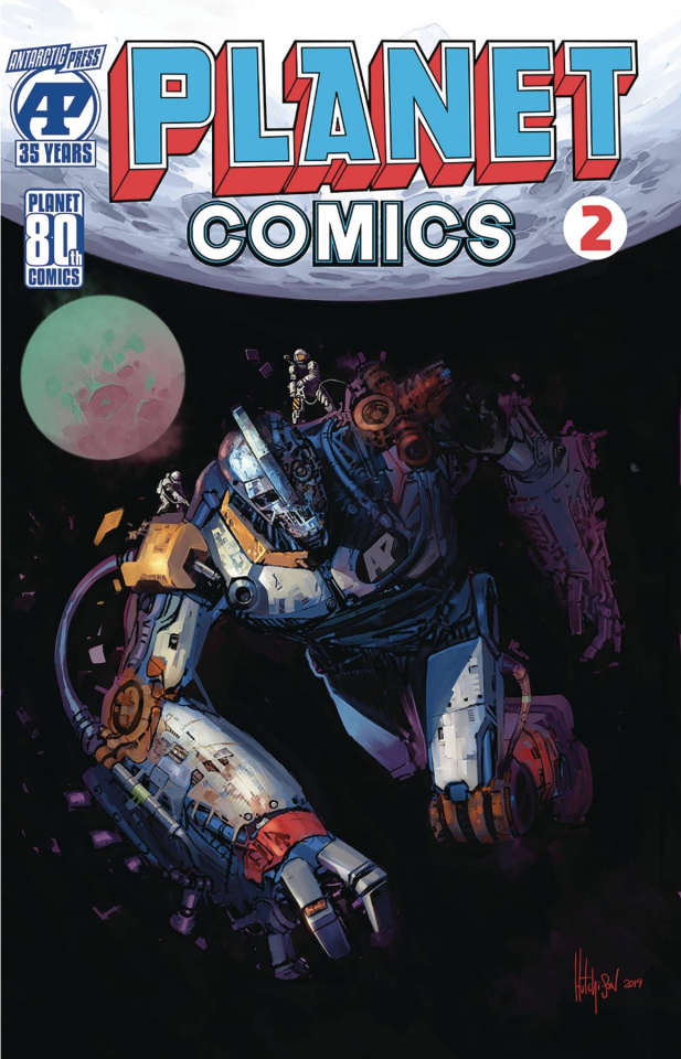 Planet Comics #2 (Hutchinson Cover)
