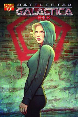 Battlestar Galactica: Six #2 (Frison Cover)