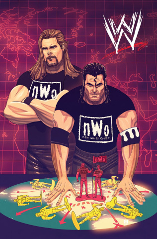 WWE WrestleMania 2018 Special #1 (15 Copy Dalfonso Cover)