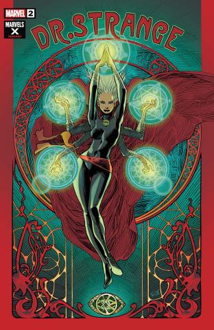 Dr. Strange #2 (Vatine Marvels X Cover)