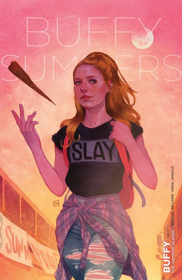 Buffy the Vampire Slayer #1 (Wada Cover)