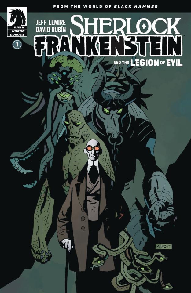Sherlock Frankenstein and the Legion of Evil #1 (Mignola Cover)