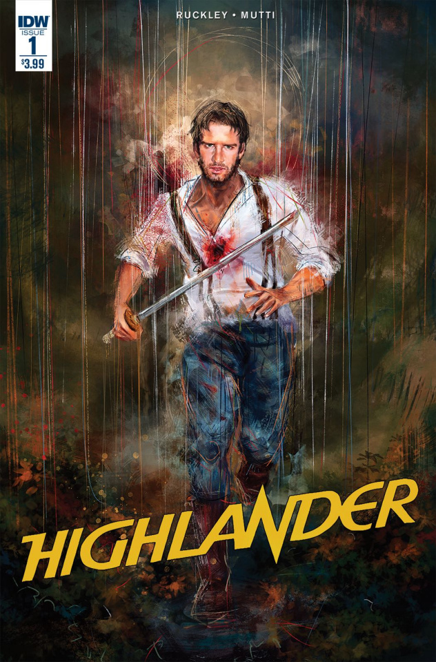 Highlander: The American Dream #1 (Subscription Cover)
