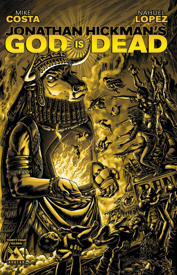 God Is Dead #34 (Gilded Cover)