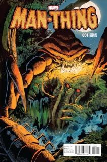 Man-Thing #1 (Francavilla Cover)
