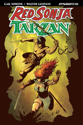 Red Sonja / Tarzan #6 (Geovani Cover)