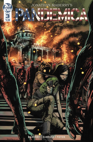 Pandemica #3 (Sanchez Cover)