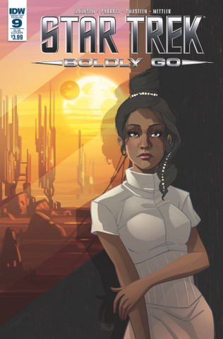 Star Trek: Boldly Go #9 (Subscription Cover)