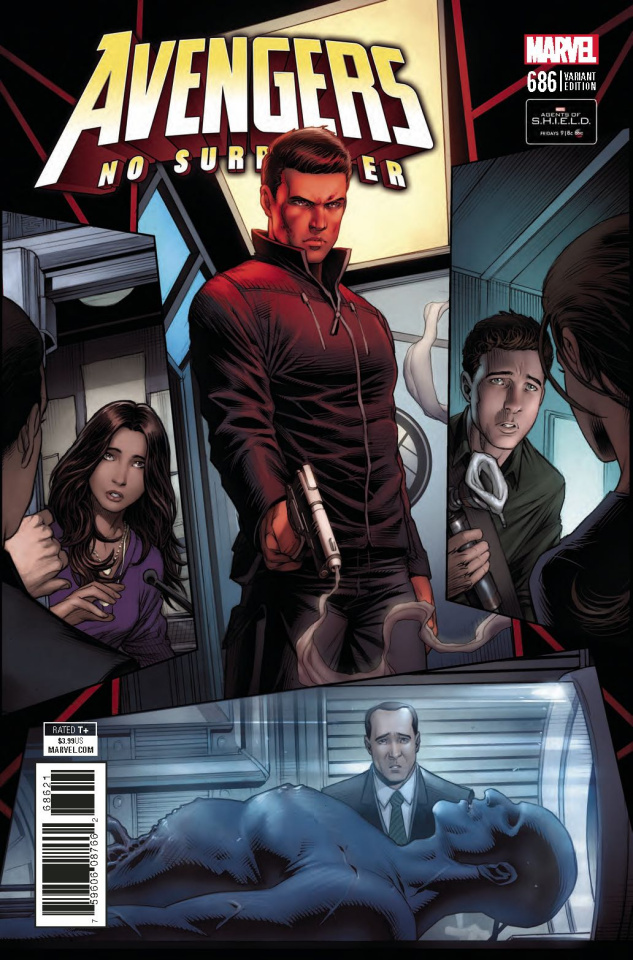 Avengers #686 (Keown Agents of SHIELD Cover)