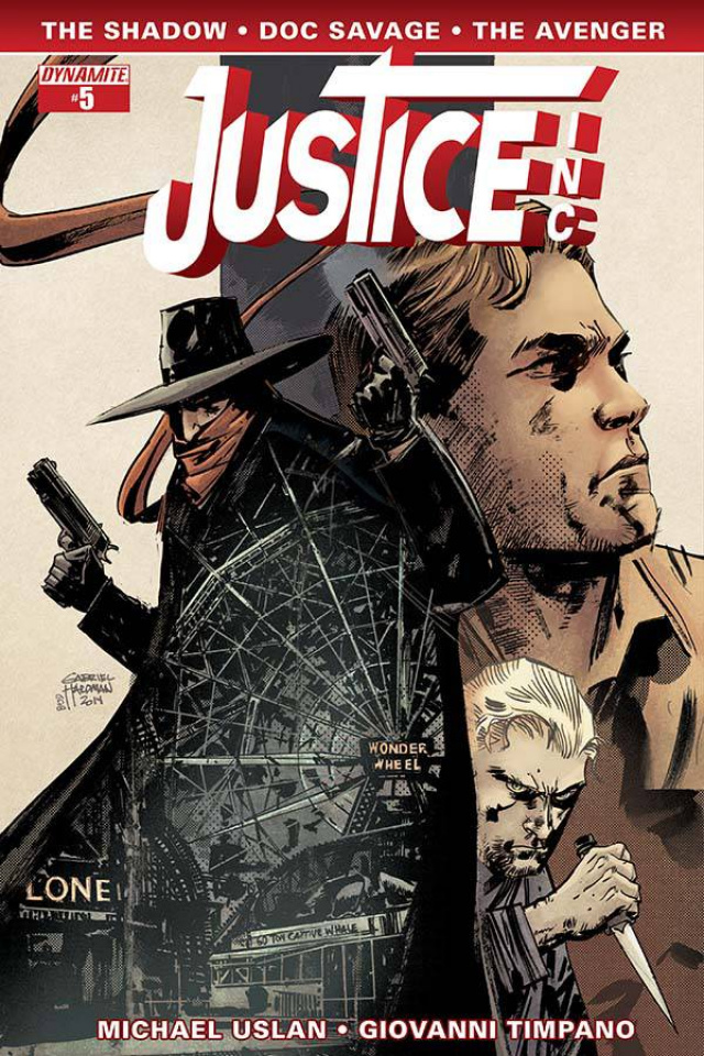 Justice, Inc. #5 (Hardman Cover)