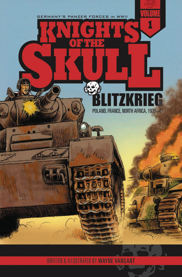 Knights of the Skull Vol. 1: Blitzkrieg - Poland, France, North Africa 1939-41