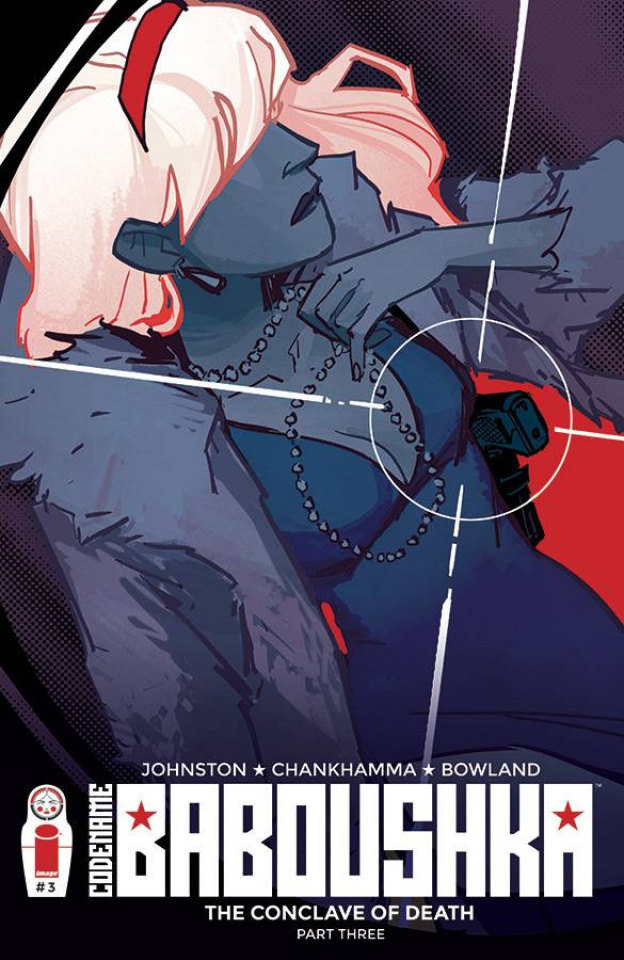 Codename Baboushka: The Conclave of Death #3 (Wu Cover)