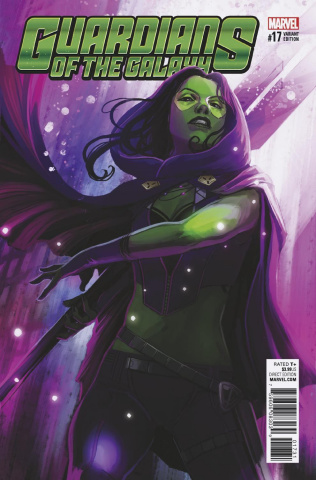 Guardians of the Galaxy #17 (Hans Cover)
