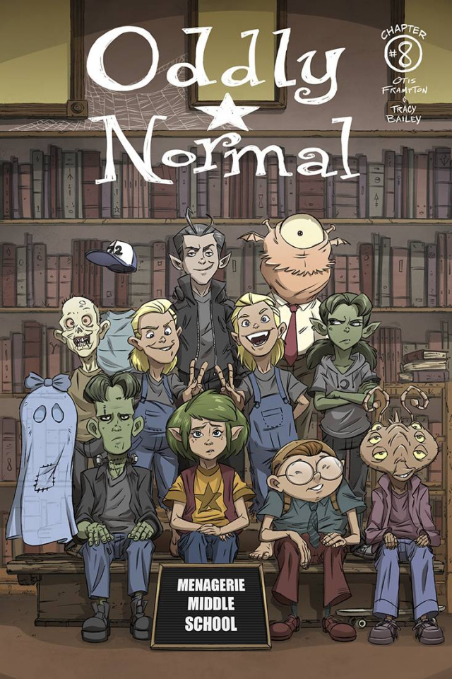 Oddly Normal #8 (Schoening Cover)