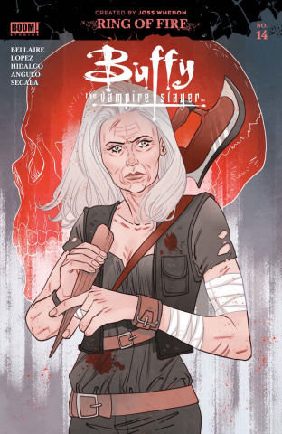 Buffy the Vampire Slayer #14 (Sauvage Spot Cover)