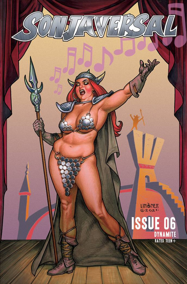Sonjaversal #6 (Linsner Cover)