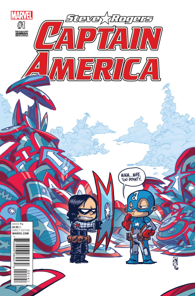 Captain America: Steve Rogers #1 (Young Cover)