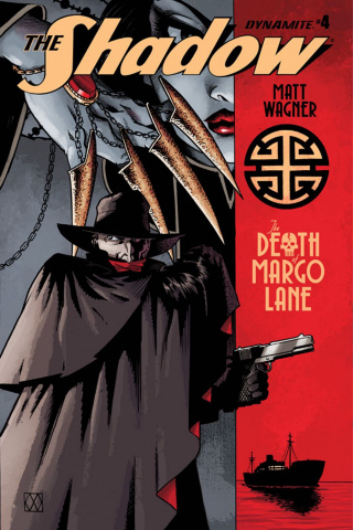 The Shadow: The Death of Margo Lane #4 (Wagner Cover)