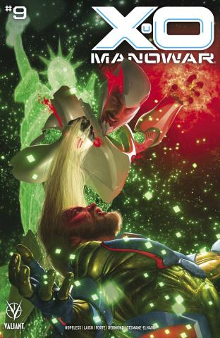 X-O Manowar #9 (Rahzzah Cover)