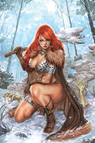 Red Sonja: Age of Chaos #3 (25 Copy Chatzoudis Virgin Cover)