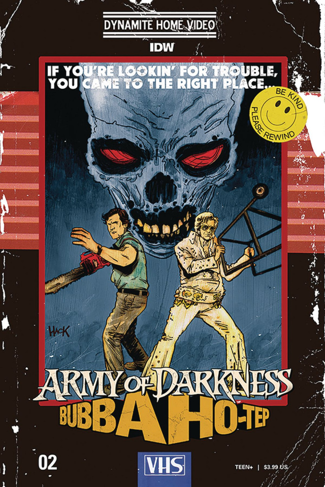 Army of Darkness / Bubba Ho-Tep #2 (Hack Cover)