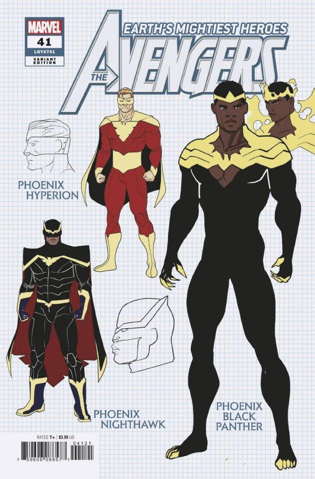 Avengers #41 (Garron Design Cover)