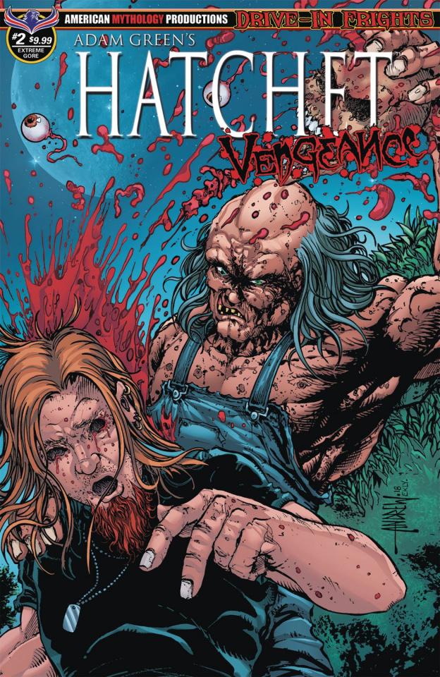 Hatchet: Vengeance #2 (Extreme Gore Cover)
