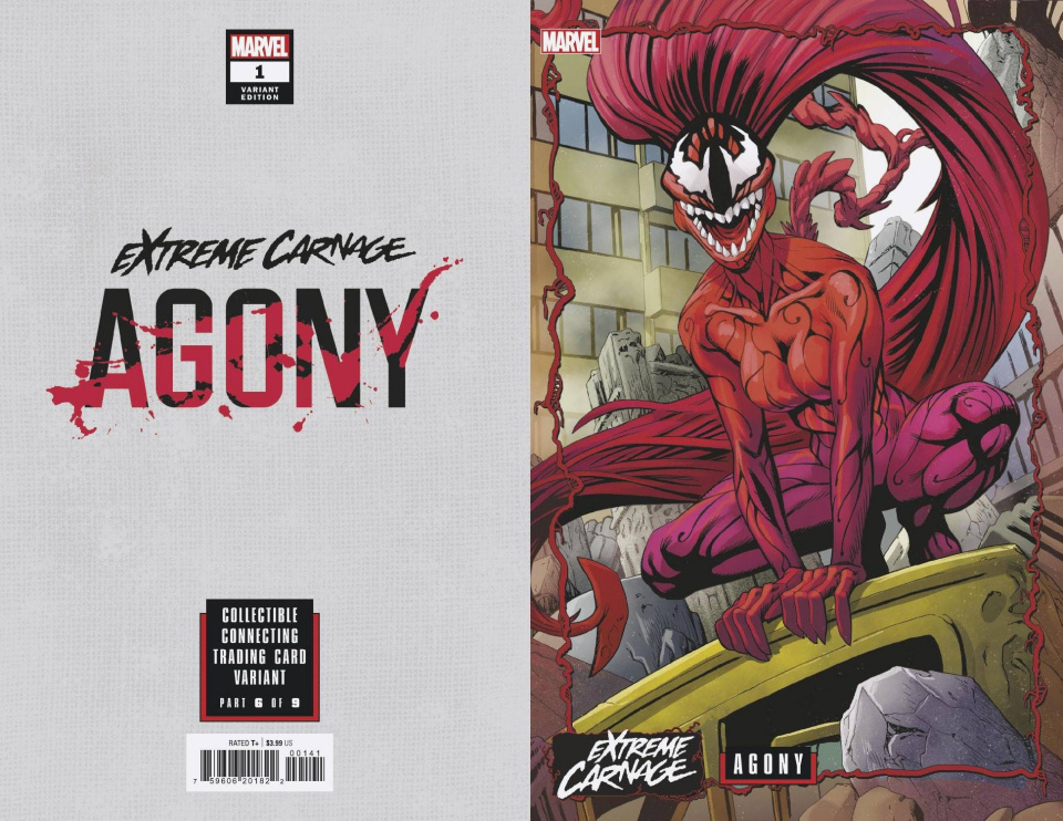 Extreme Carnage: Agony #1 (Johnson Connecting Cover)
