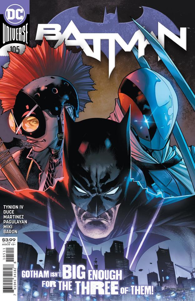 Batman #105 (Jorge Jimenez Cover)