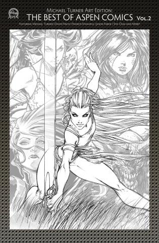 Michael Turner Art Edition: The Best of Aspen Comics Vol. 2