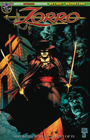 Zorro: Swords of Hell #1 (Martinez Cover)