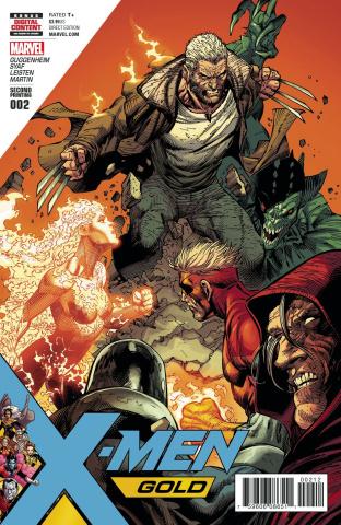 X-Men: Gold #2 (2nd Printing Syaf Cover)