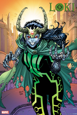 Loki #5 (Nauck 2099 Cover)