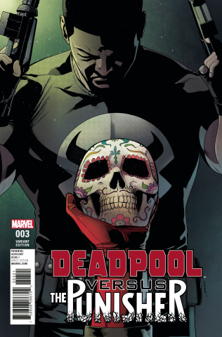 Deadpool vs. The Punisher #3 (Perez Cover)