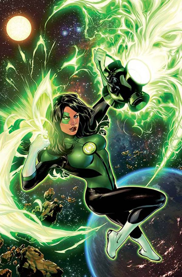 Green Lanterns #1 (Variant Cover)
