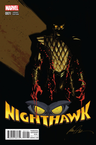 Nighthawk #1 (Albuquerque Cover)