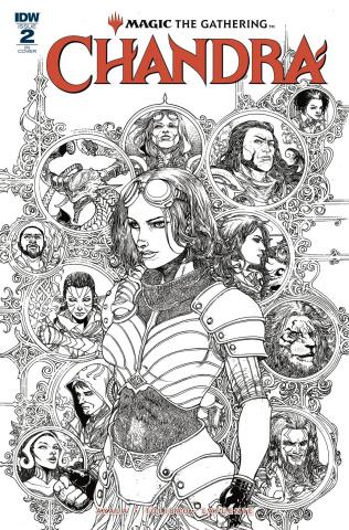 Magic the Gathering: Chandra #2 (10 Copy Tolibao Cover)