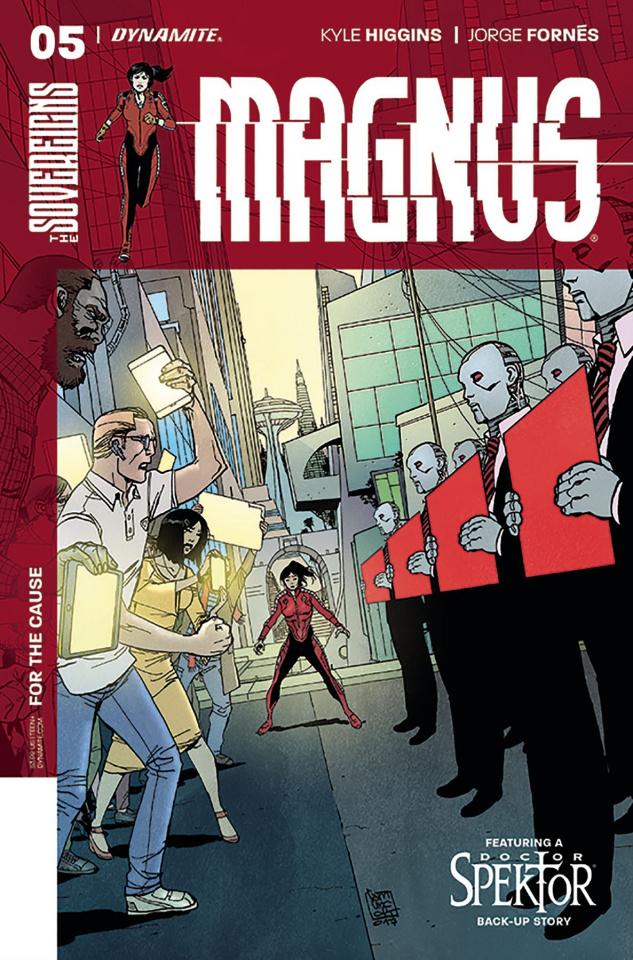 Magnus #5 (Camuncoli Cover)