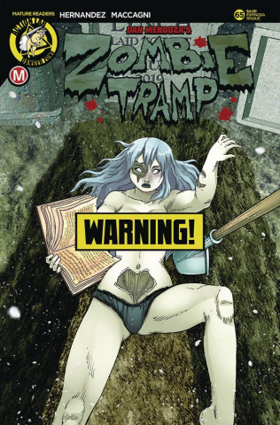 Zombie Tramp #65 (Espinosa Risque Cover)