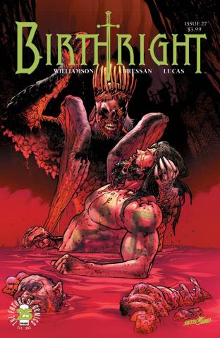 Birthright #27 (Bressan & Lucas Cover)